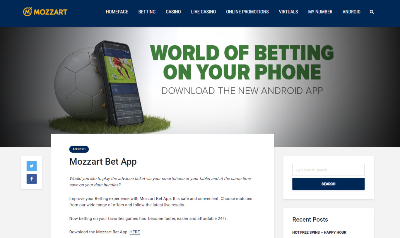 Mozzartbet App Download Algorithm