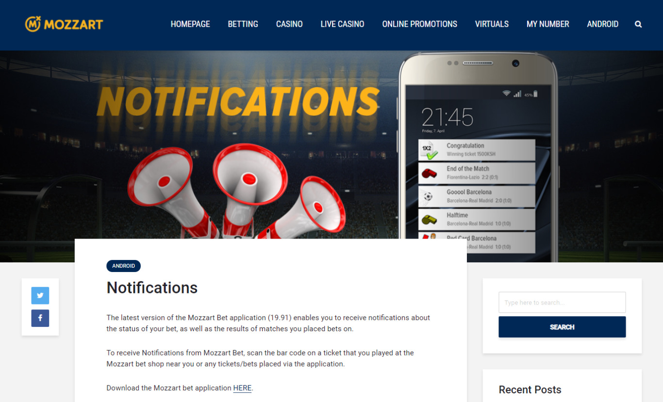 Mozzart Bet Apps Features and Functions