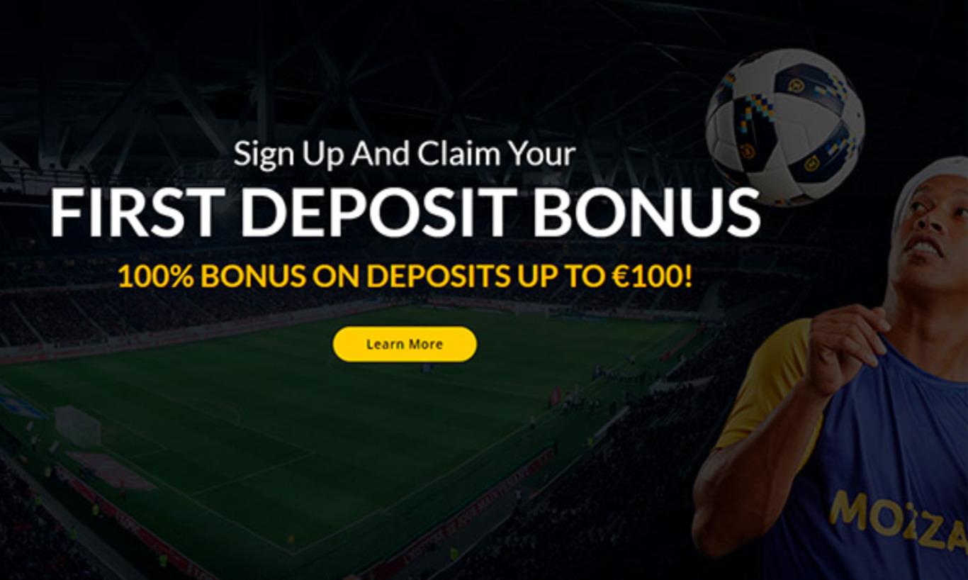 MozzartBet first deposit bonus